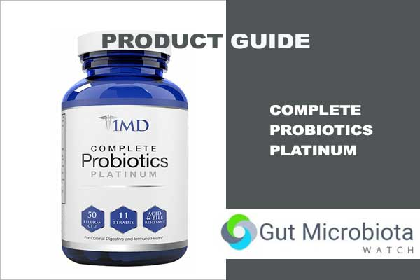 Complete Probiotics Platinum from 1MD