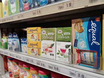 Sugar and Artificial Sweeteners